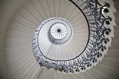 Drottnings trappa för slotttulpan, 1619 Byggdes som en adjunct till Tudor Palace Arkivfoton