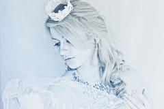 drottningsnow Fotografering för Bildbyråer