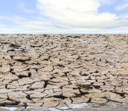 Drough sotto il cielo Immagine Stock
