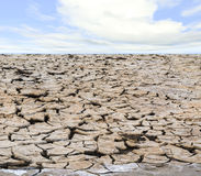 Drough under sky Stock Image