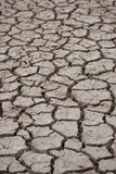 Drought. Soil in summer heatwave Stock Photography