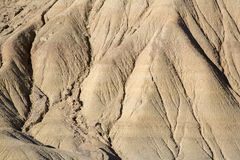 Drought Background at Bardenas Reales Park; Navarre Royalty Free Stock Images