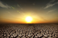 Drought background Stock Image