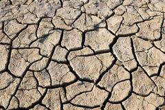 Drought cracked earth Stock Photos