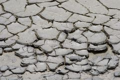 Drought Cracks Stock Photo