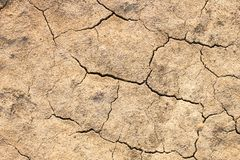 Drought. Ground in desert. Natural disaster Stock Image