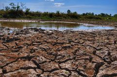 Drought ground stock photo