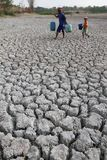 Drought in indonesia Royalty Free Stock Photos