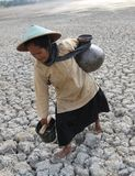 Drought in indonesia Stock Photography