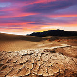 Drought land. In Death Valley National Park,USA royalty free stock photos