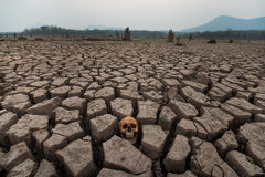 Drought land world crisis Royalty Free Stock Photography