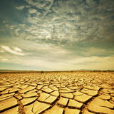 Drought lands. Drought land Royalty Free Stock Image
