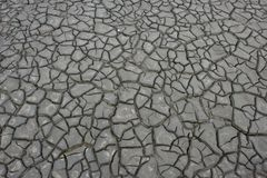 Drought mud. In the desert texture Stock Photo