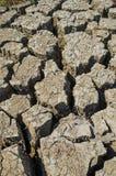 Drought parched soil Stock Photos