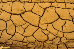 Drought. Signs of drought after days without rain Stock Image
