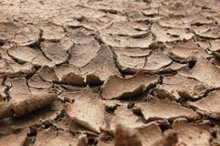 Drought soil Royalty Free Stock Images