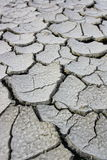 Drought Soil without grass and global warming Royalty Free Stock Image