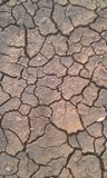 Drought soil no water. Land that is dry because it has not been raining for a long time seems cracked Royalty Free Stock Photography
