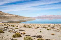 Drought at Walker Lake Stock Photography