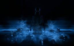 drow enchantress νεραιδών Στοκ Φωτογραφίες