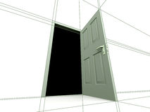 Free Drowing.Door Royalty Free Stock Images - 4111379