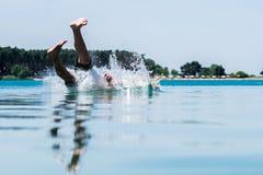drowning Fotografía de archivo