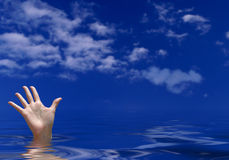 Drowning Stock Photography