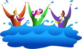 Drowning business Stock Photos