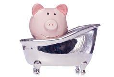 Drowning in debt Stock Photos
