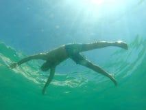 Drowning man Stock Photo