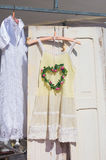 Drużki suknia Zdjęcia Stock