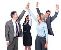 drużyn biznesowi szczęśliwi ludzie Obrazy Stock