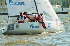Drużyna atlety na łodzi Obraz Stock