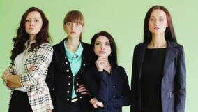 Drużyna biznesowe kobiety zbiory wideo