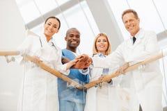 Drużyna eksperci medyczni zdjęcie royalty free