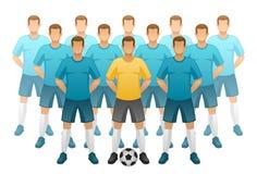 Drużyna futbolowa ilustracja wektor