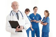 Drużyna lekarki i pielęgniarki Obraz Stock