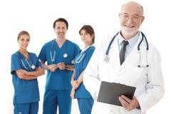 Drużyna lekarki i pielęgniarki zdjęcie royalty free