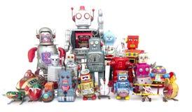 Drużynowi roboty zdjęcia stock