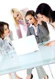 drużyny wpólnie kobiet target423_1_ zdjęcia stock