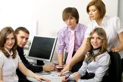 drużynowi biznesów potomstwa Obrazy Stock