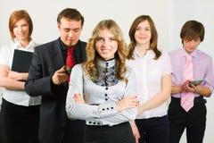 drużynowi biznesów potomstwa Zdjęcia Stock