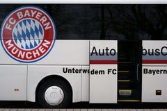 Drużynowy autobusowy Bayern Munich Obrazy Stock