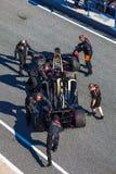 Drużynowy Lotosowy Renault F1, Romain Grosjean, 2012 Zdjęcie Royalty Free