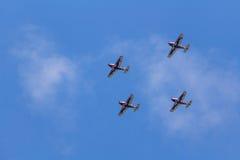 Drużynowy Pionner Aerobatic przedstawienie Obrazy Stock