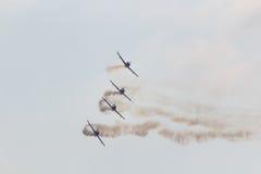 Drużynowy Pionner Aerobatic przedstawienie Zdjęcia Stock