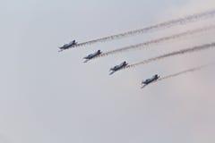Drużynowy Pionner Aerobatic przedstawienie Obraz Stock