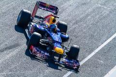 Drużynowy Red Bull F1, Sebastian Vettel, 2012 Zdjęcia Stock