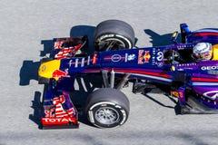Drużynowy Red Bull F1, Sebastian Vettel, 2013 Obrazy Royalty Free