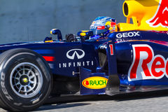Drużynowy Red Bull F1, Sebastian Vettel, 2012 Obraz Stock